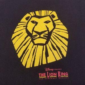 DISNEY'S THE LION KING MUSICAL T SHIRT